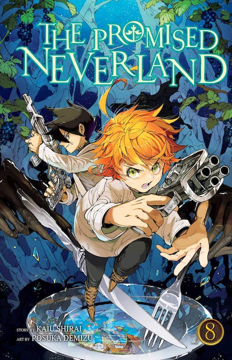 book cover: The Promised Neverland volume 8