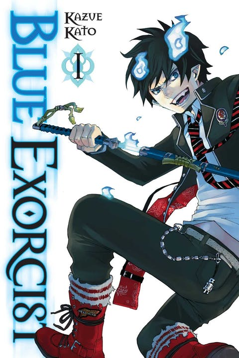 book cover: Blue Exorcist vol. 1
