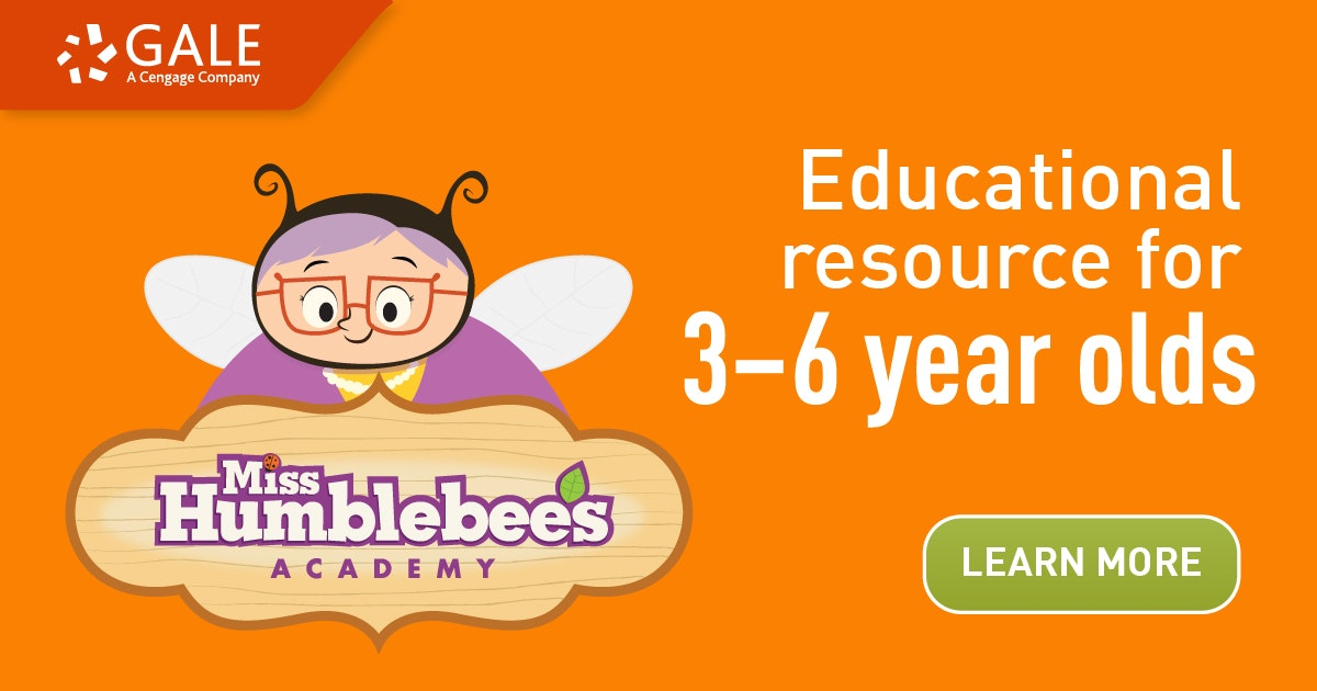 Orange banner with a bumbee