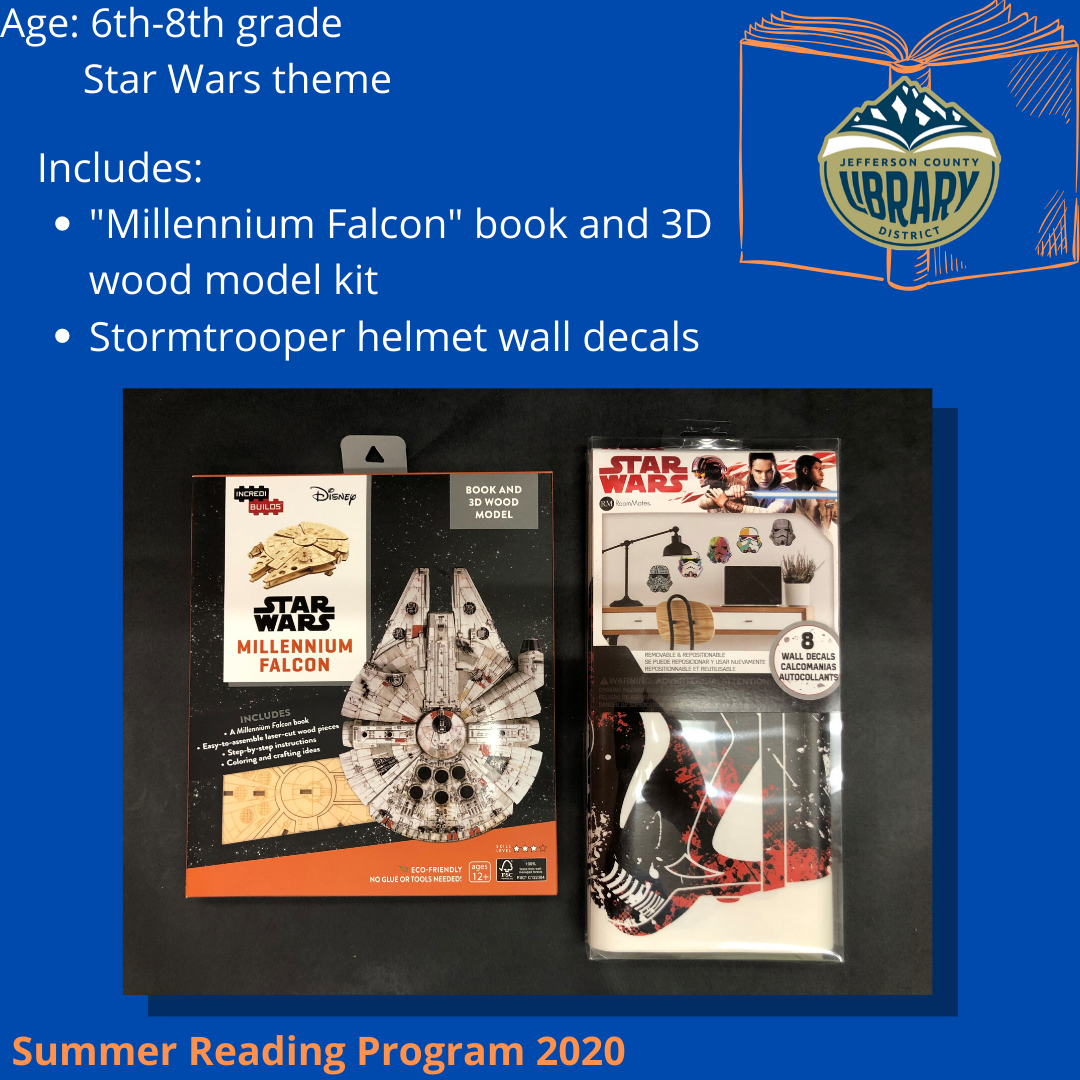 Prize: Star Wars for middle school age