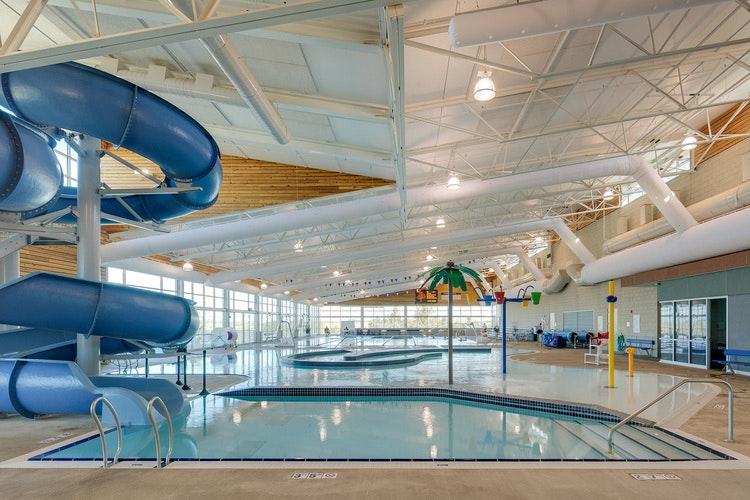 MAC Aquatic Center inside photo
