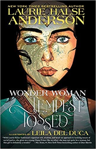 book cover: Wonder Woman Tempest Tossed