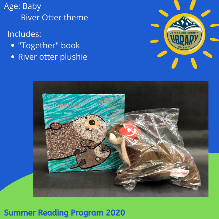 Prize: river otter for baby-toddler age