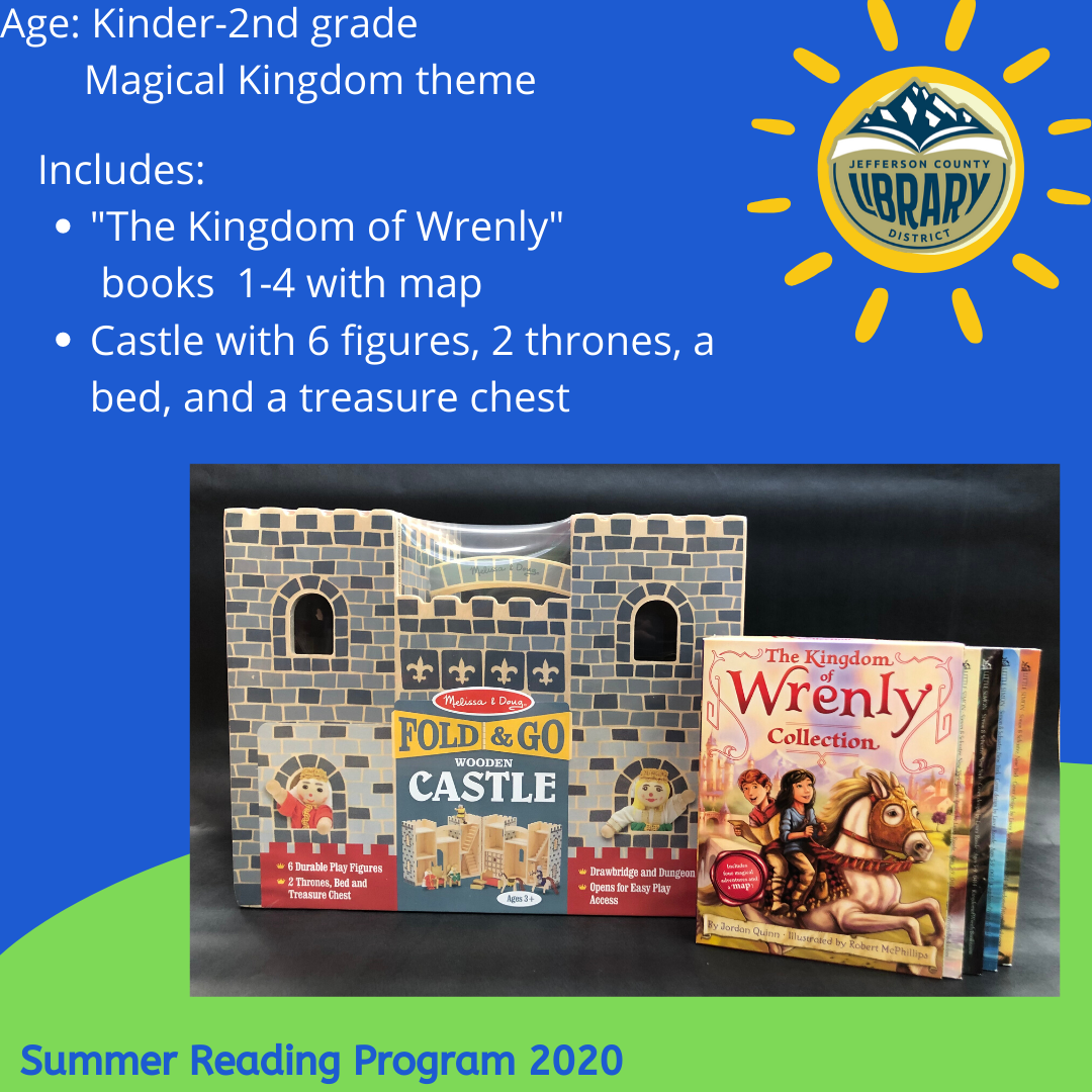 Prize: magical kingdom for lower elementary age