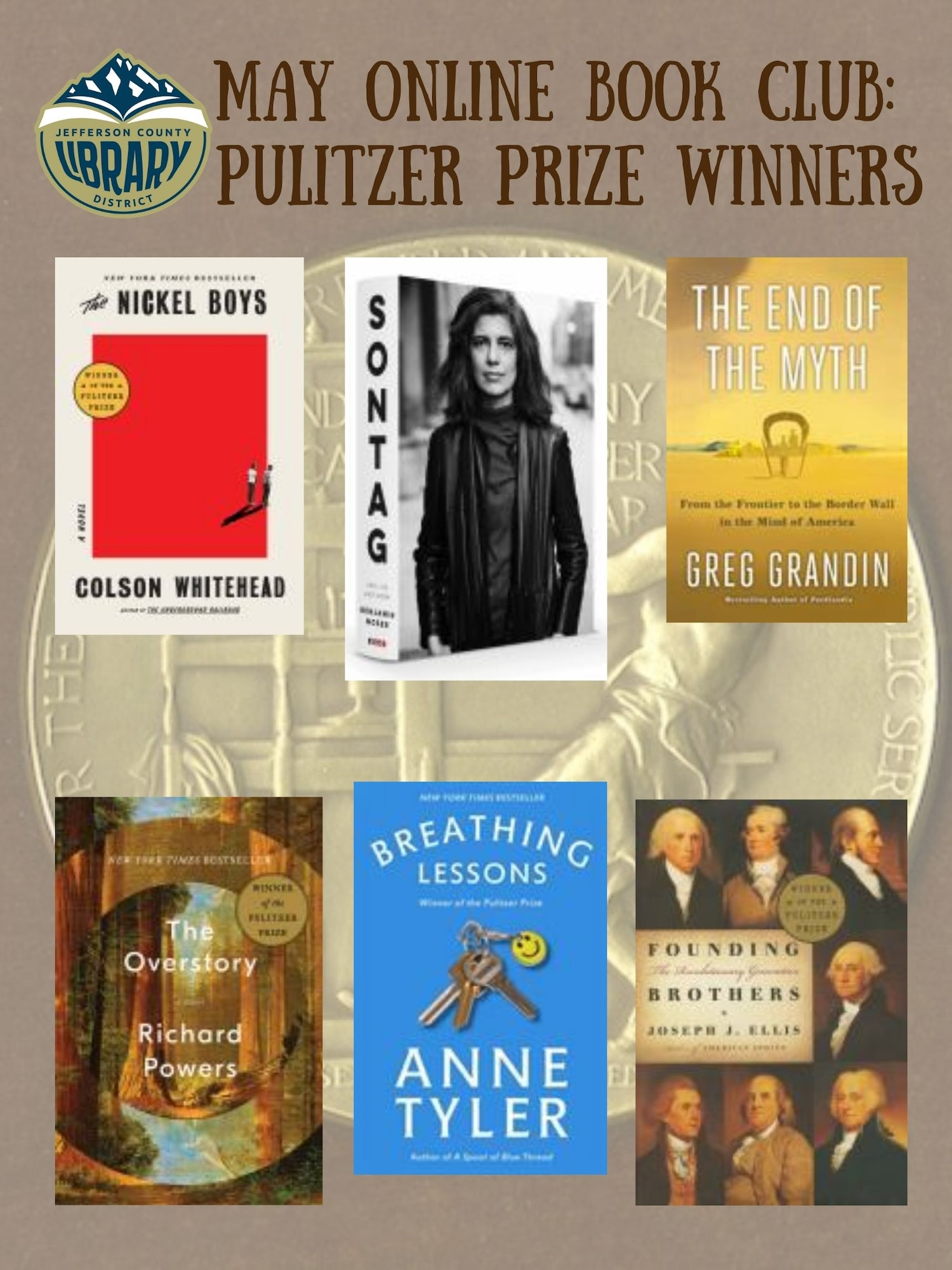 May, book club , online, pulitzer prize.