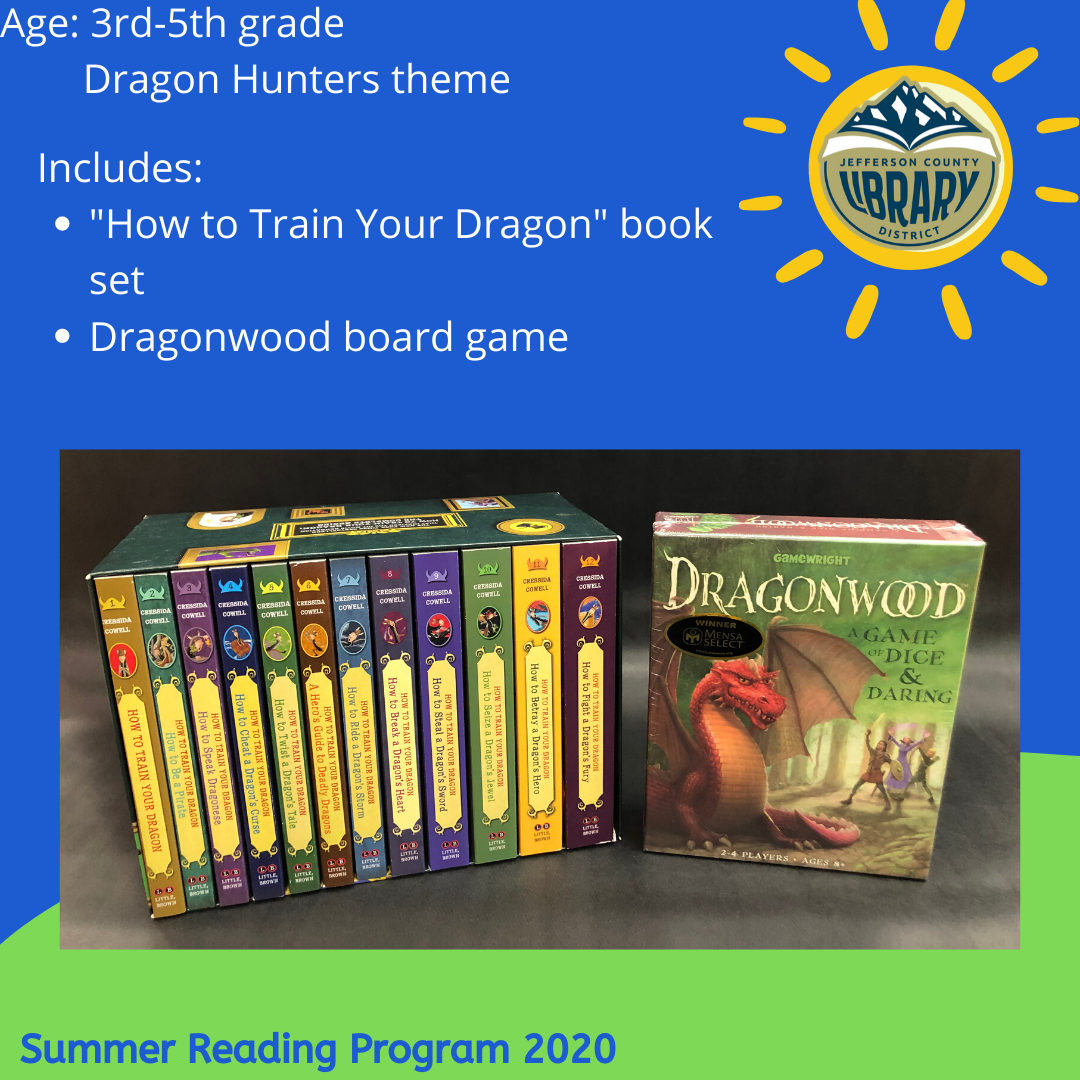 Prize: dragon hunters for upper elementary age