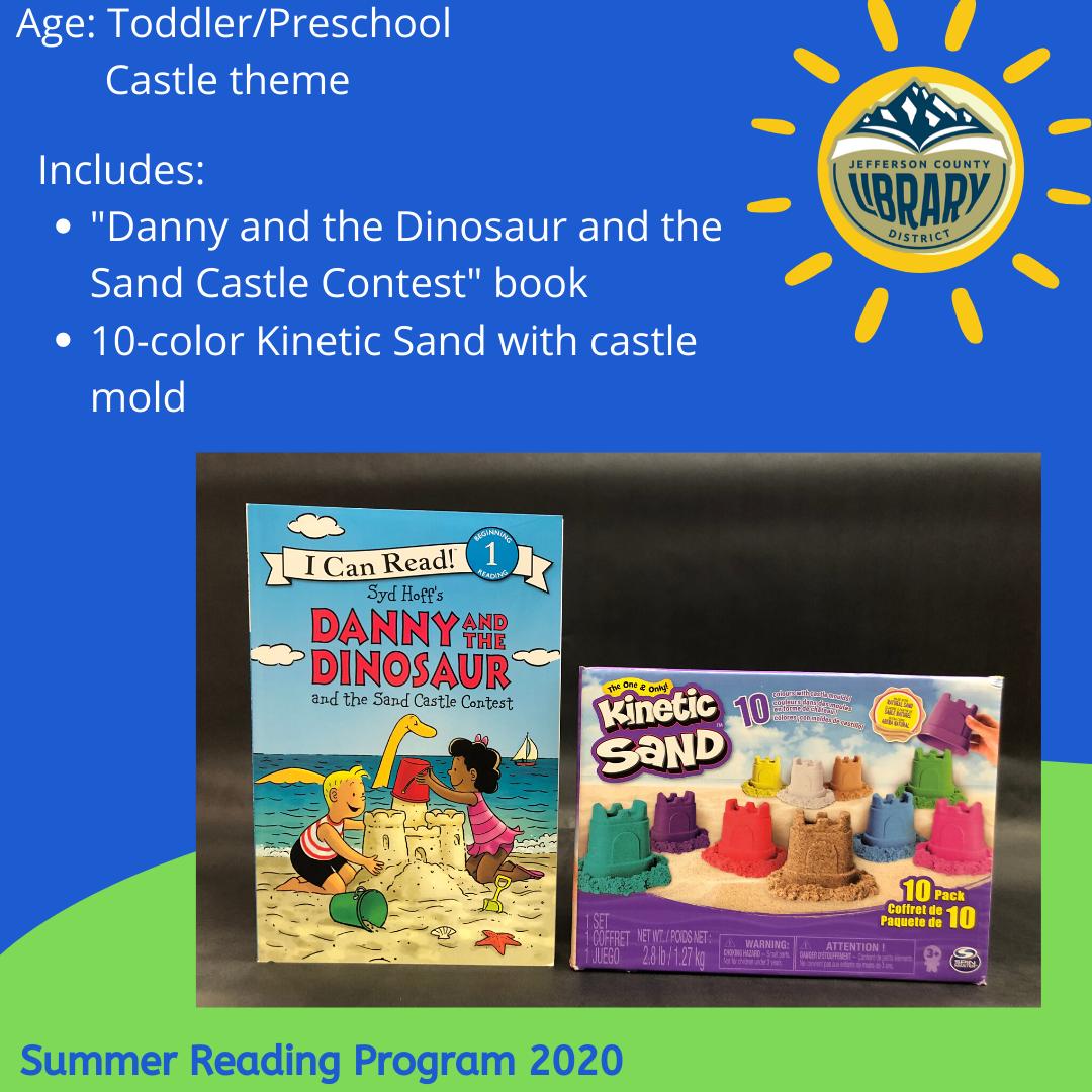Prize: sand castle for PreK age