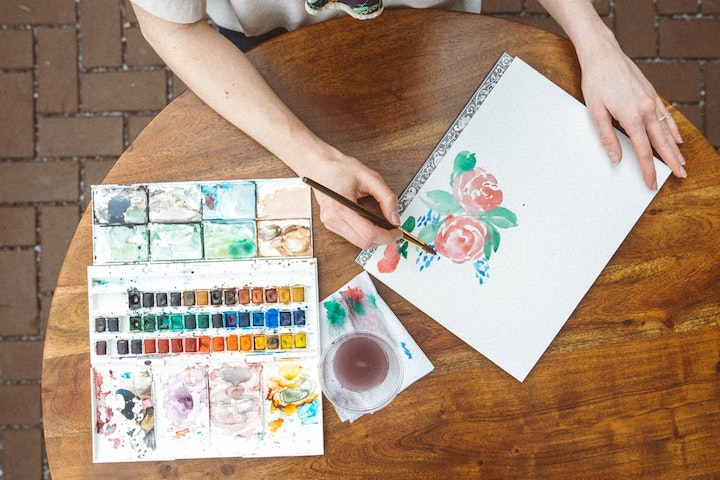 watercolor painting, class
