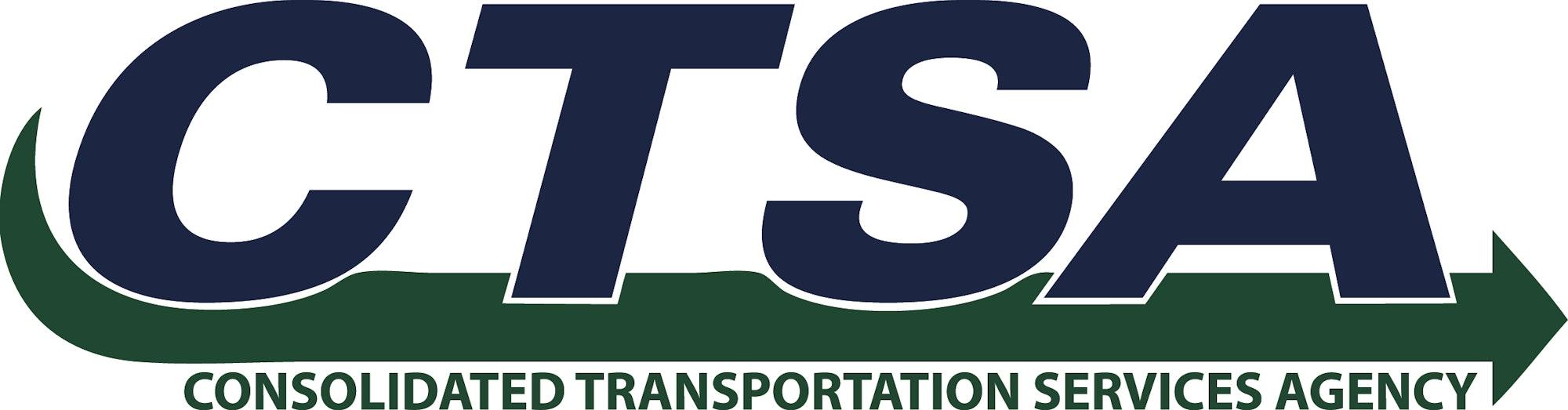 CTSA, trademark, symbol, logo, and text