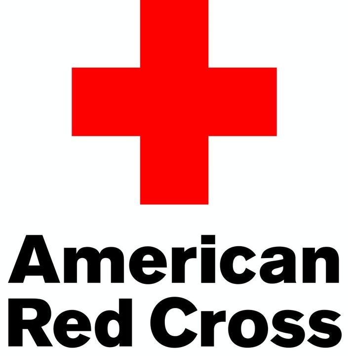 American Red Cross logo, trademark, symbol, first aid, and red cross