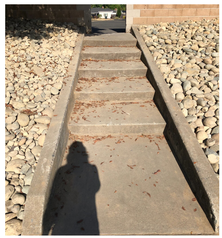 May contain: flagstone, slate, walkway, path, and rug