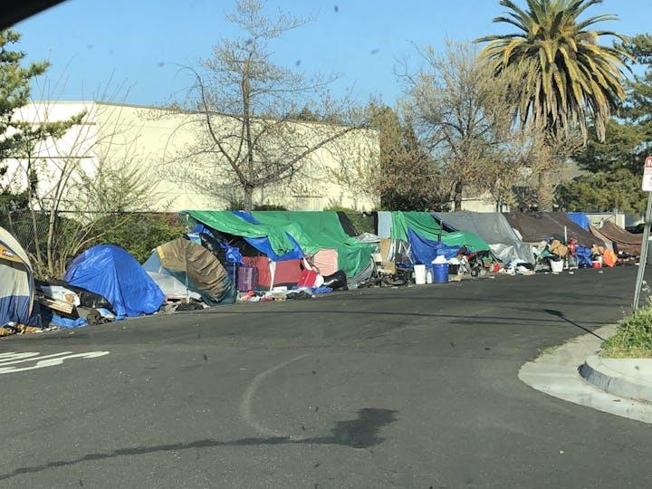 May contain: person, human, and camping