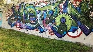 May contain: graffiti and wall