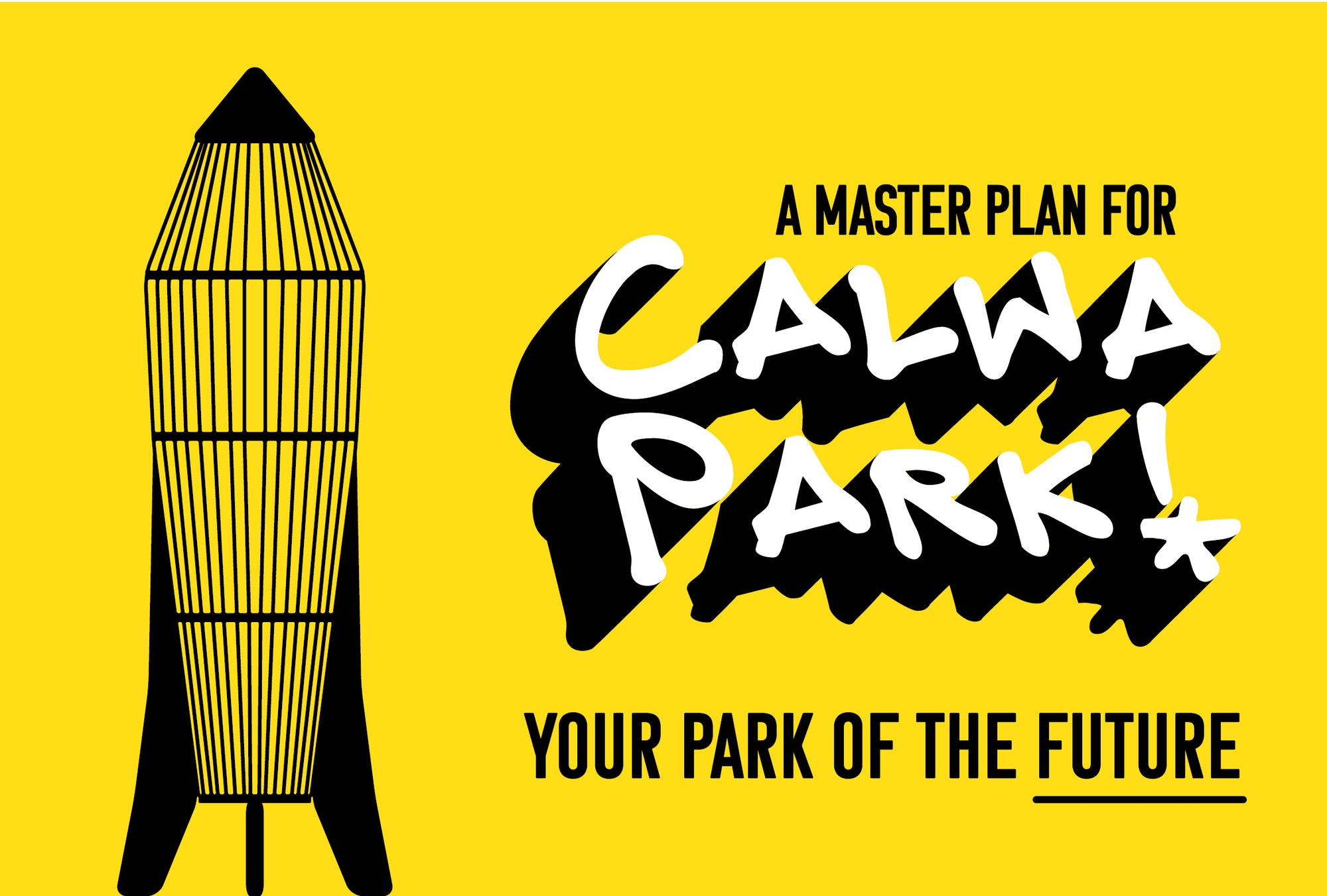 Graphic of Calwa Park rocket