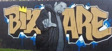 May contain: graffiti, person, and human