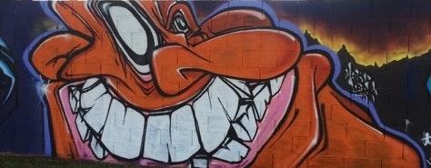 May contain: graffiti
