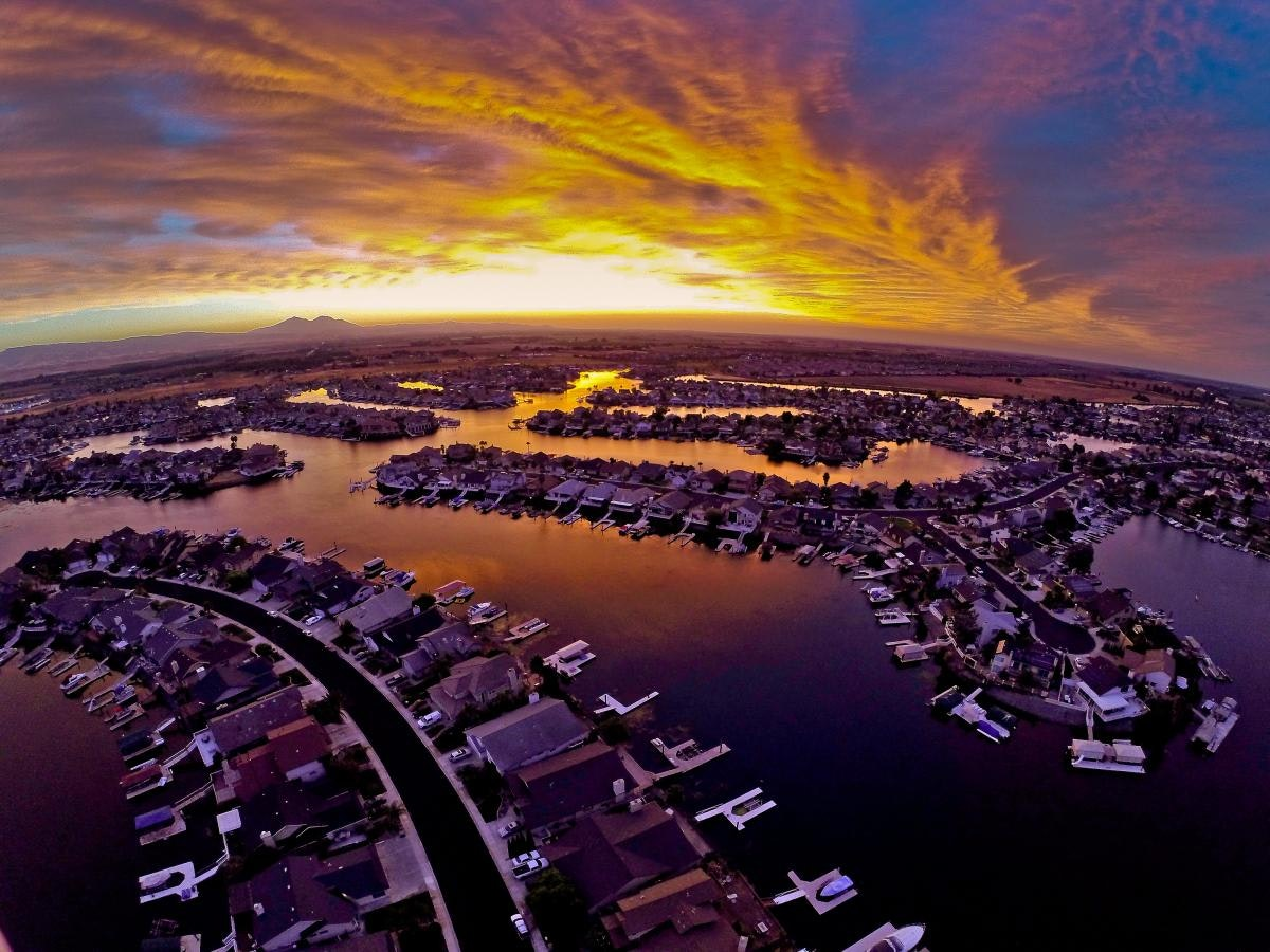 May contain: landscape, nature, outdoors, scenery, aerial view, panoramic, boat, transportation, and vehicle