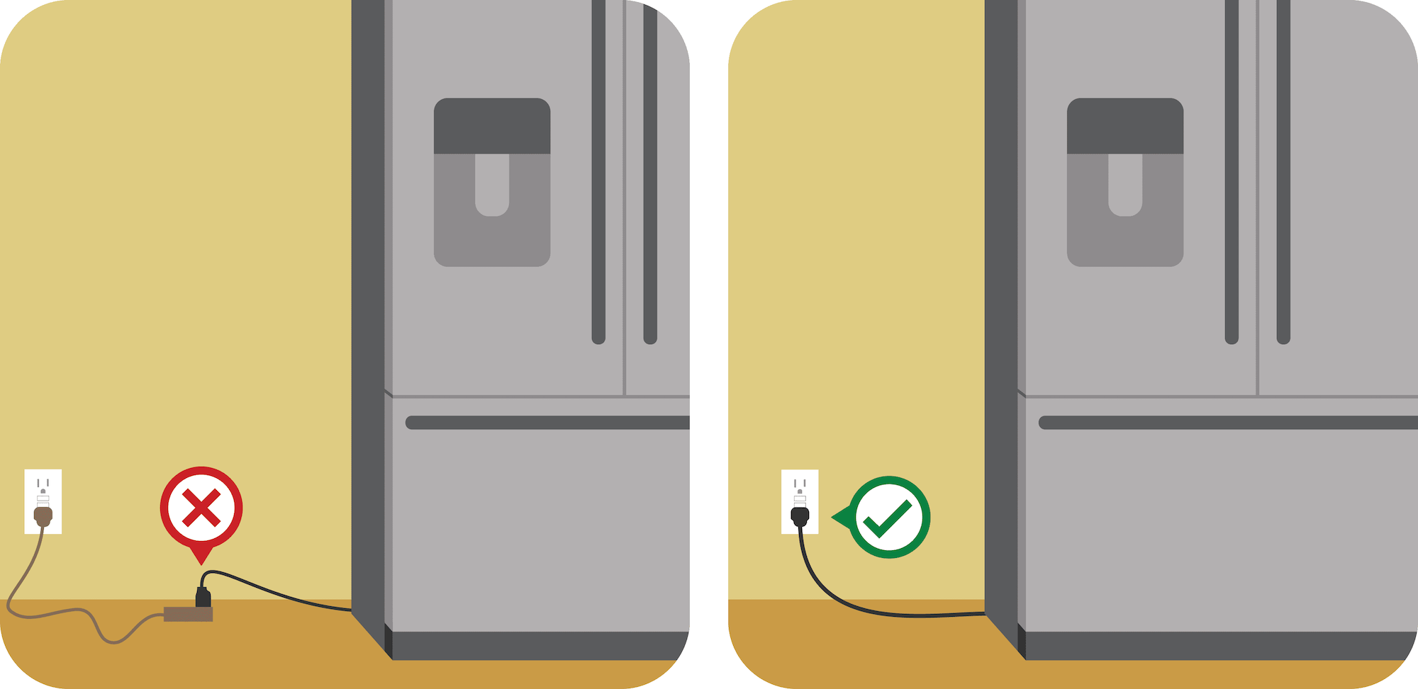May contain: appliance and refrigerator