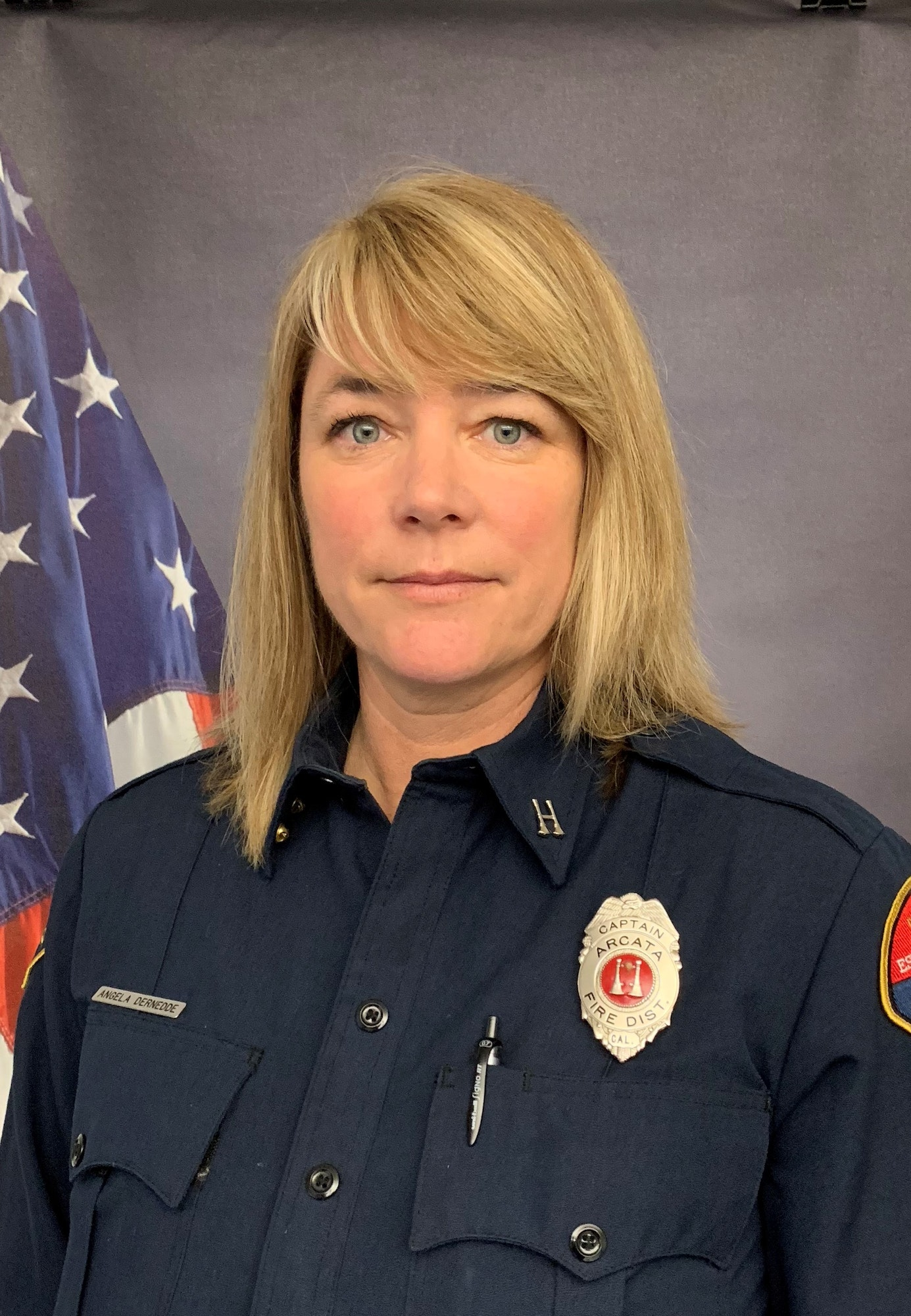 Staff photo of Fire Captain.