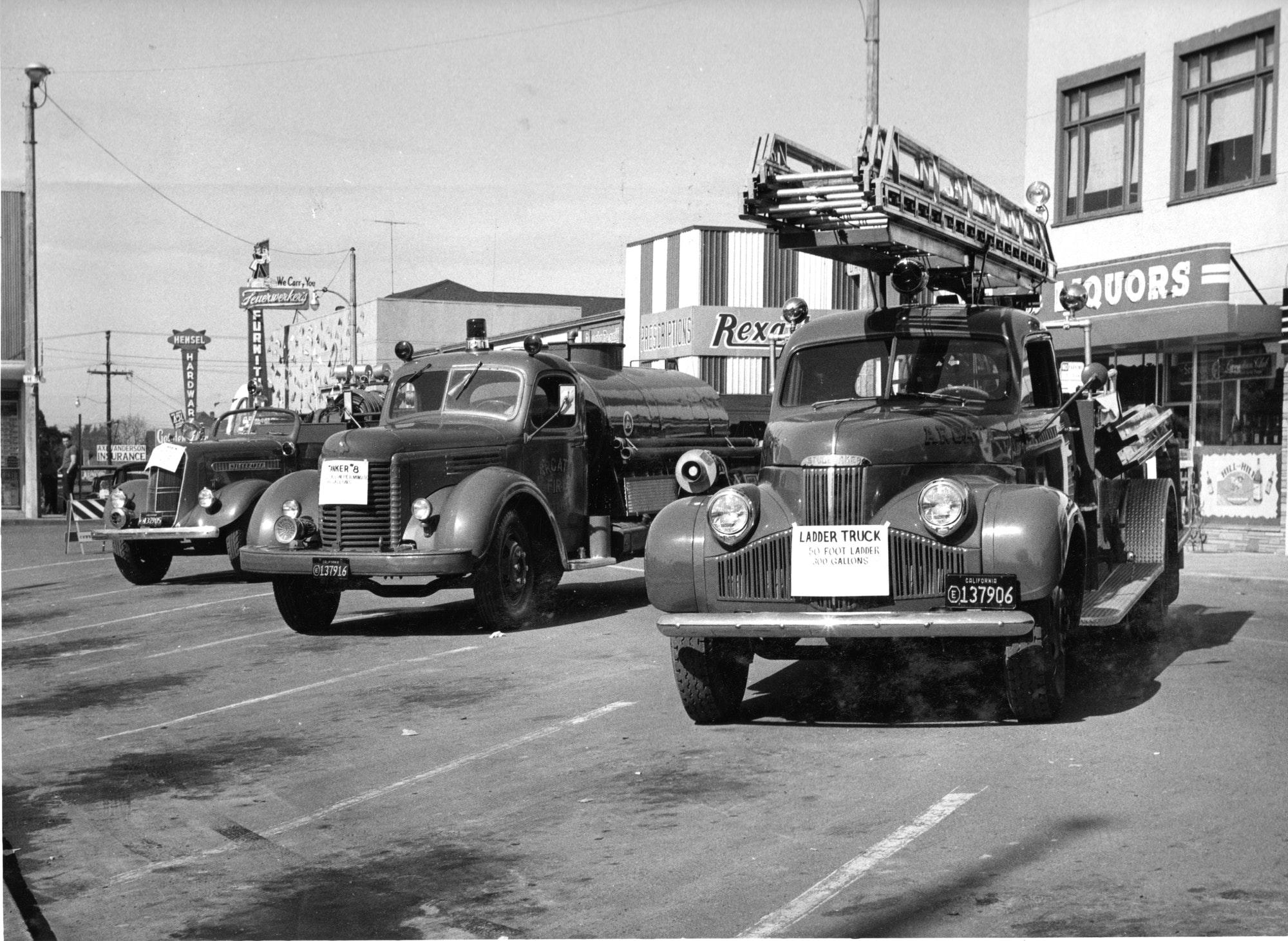 Photo of apparatus on the Plaza