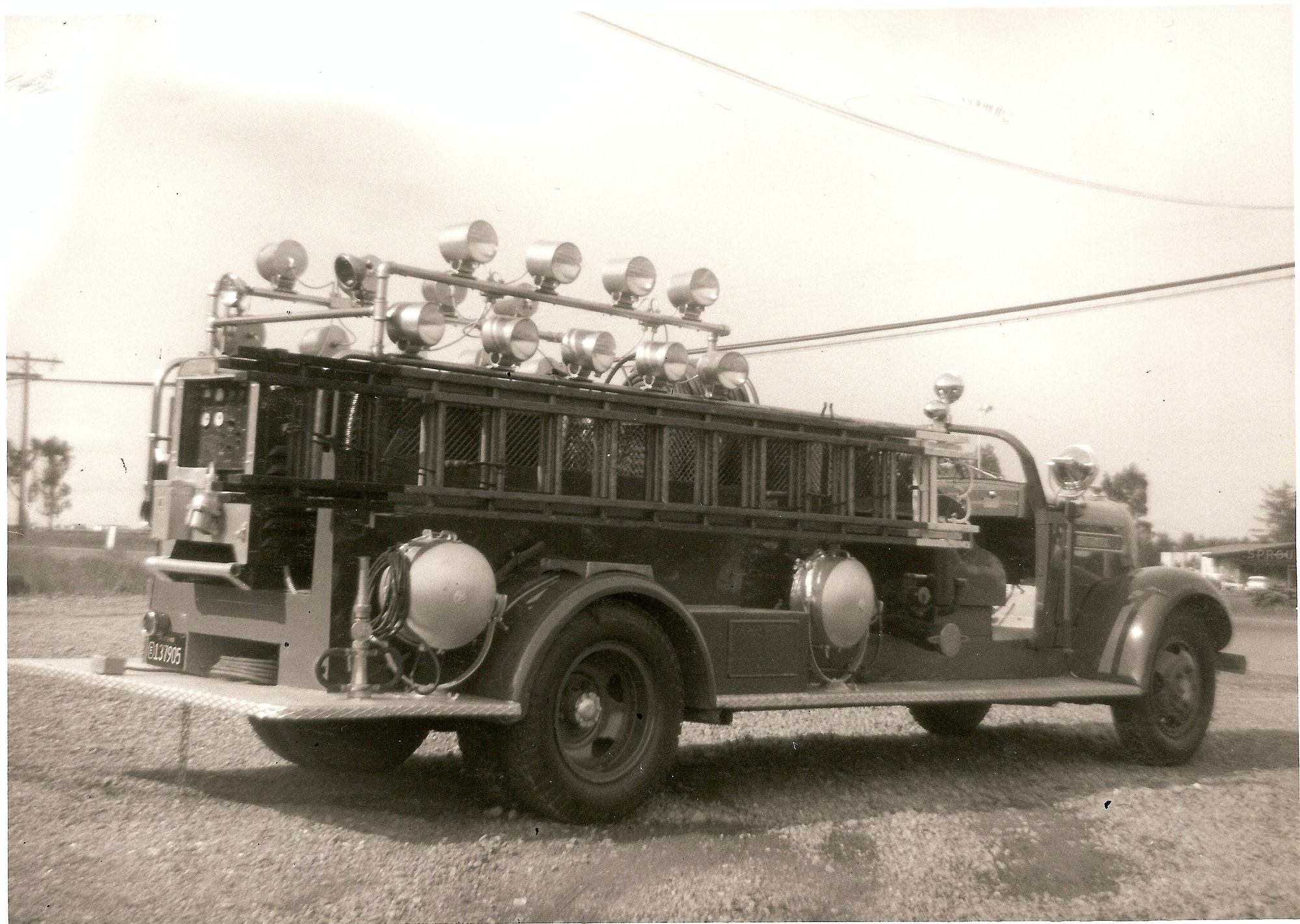 Photo of vintage engine