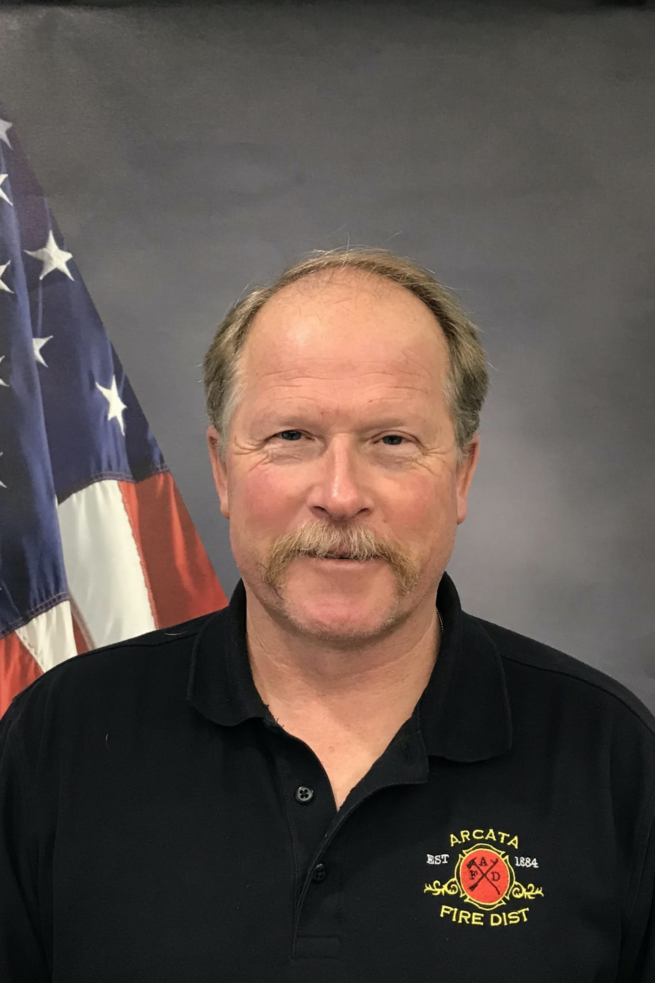 Staff photo of Fire Marshal.
