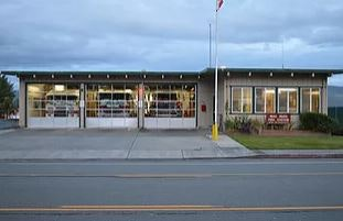 Photo of the Mad River Fire Station