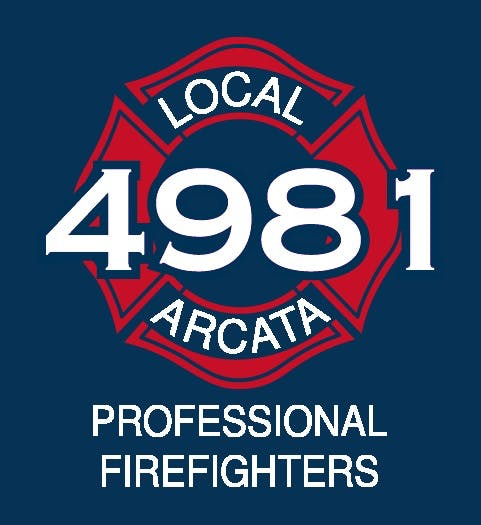 Local 4981 Professional Firefighters logo