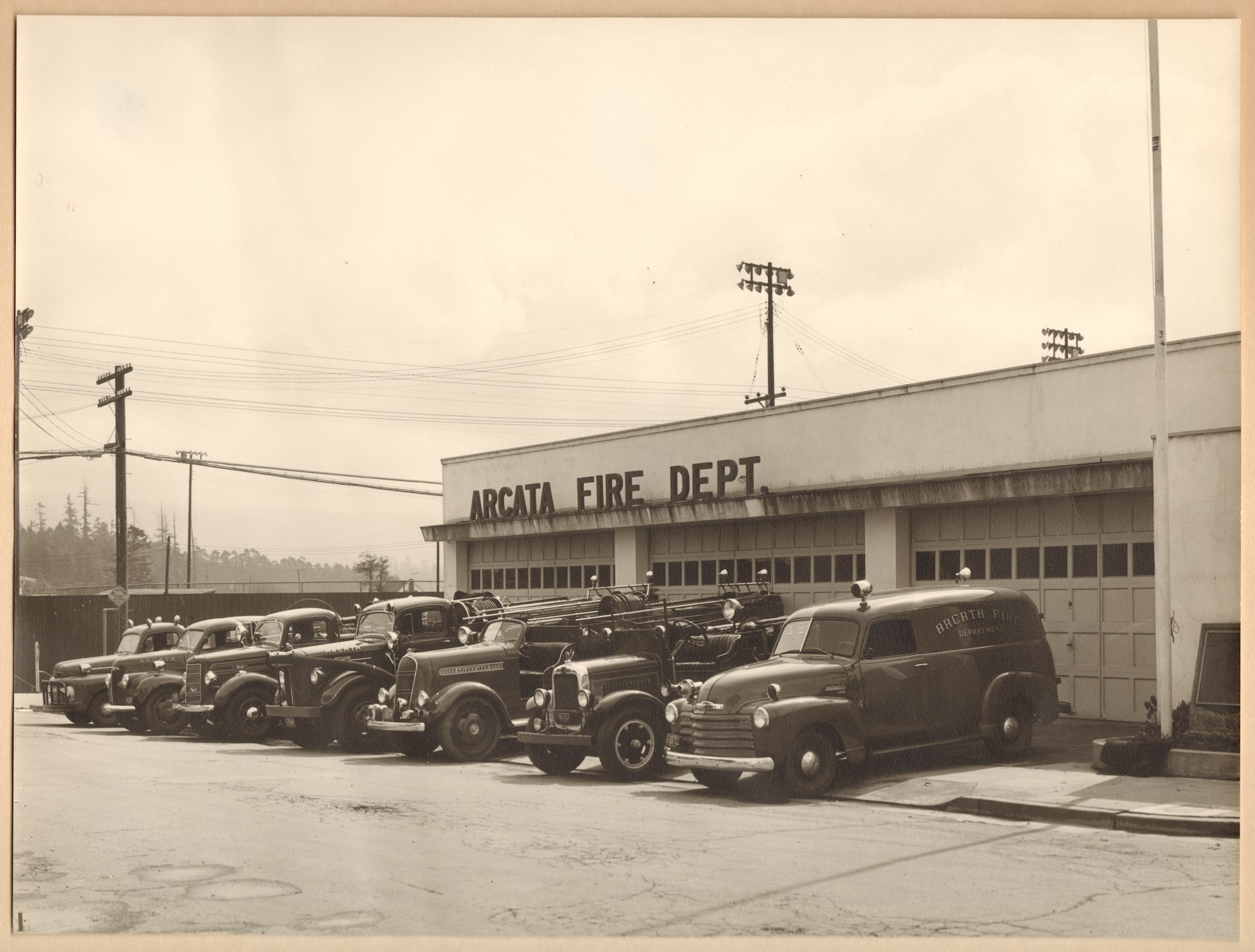 Photo of apparatus from the 1950's