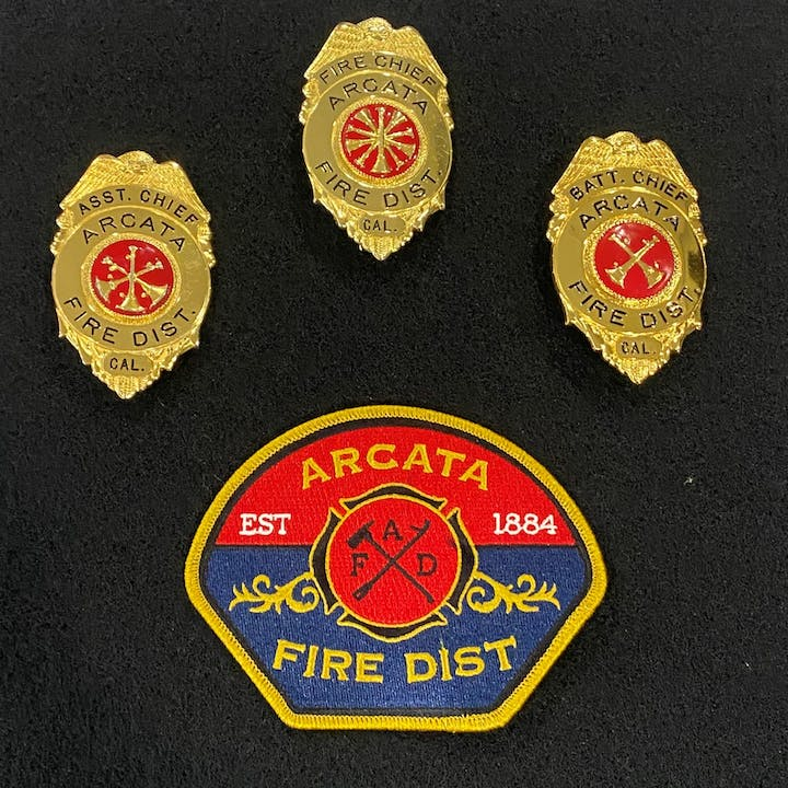 Logo and badges