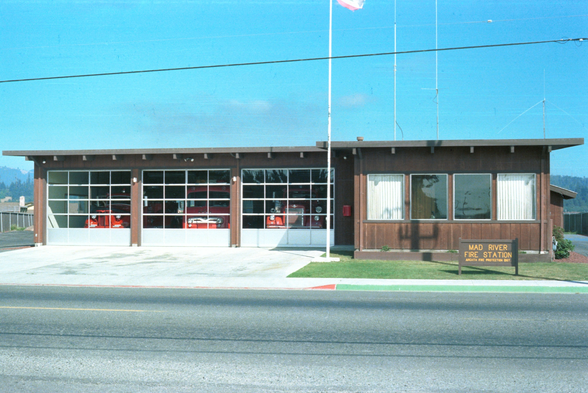 photo of fire station