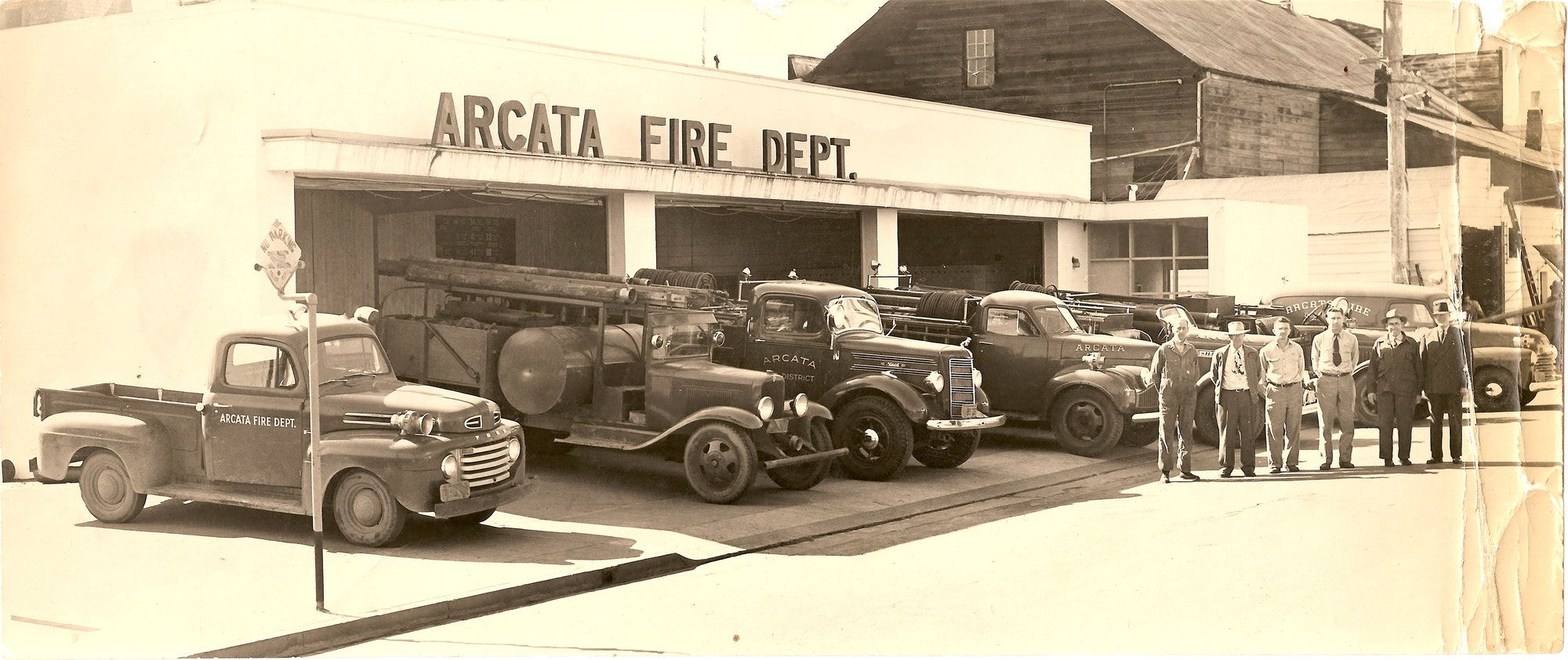 Fire Station in 1952