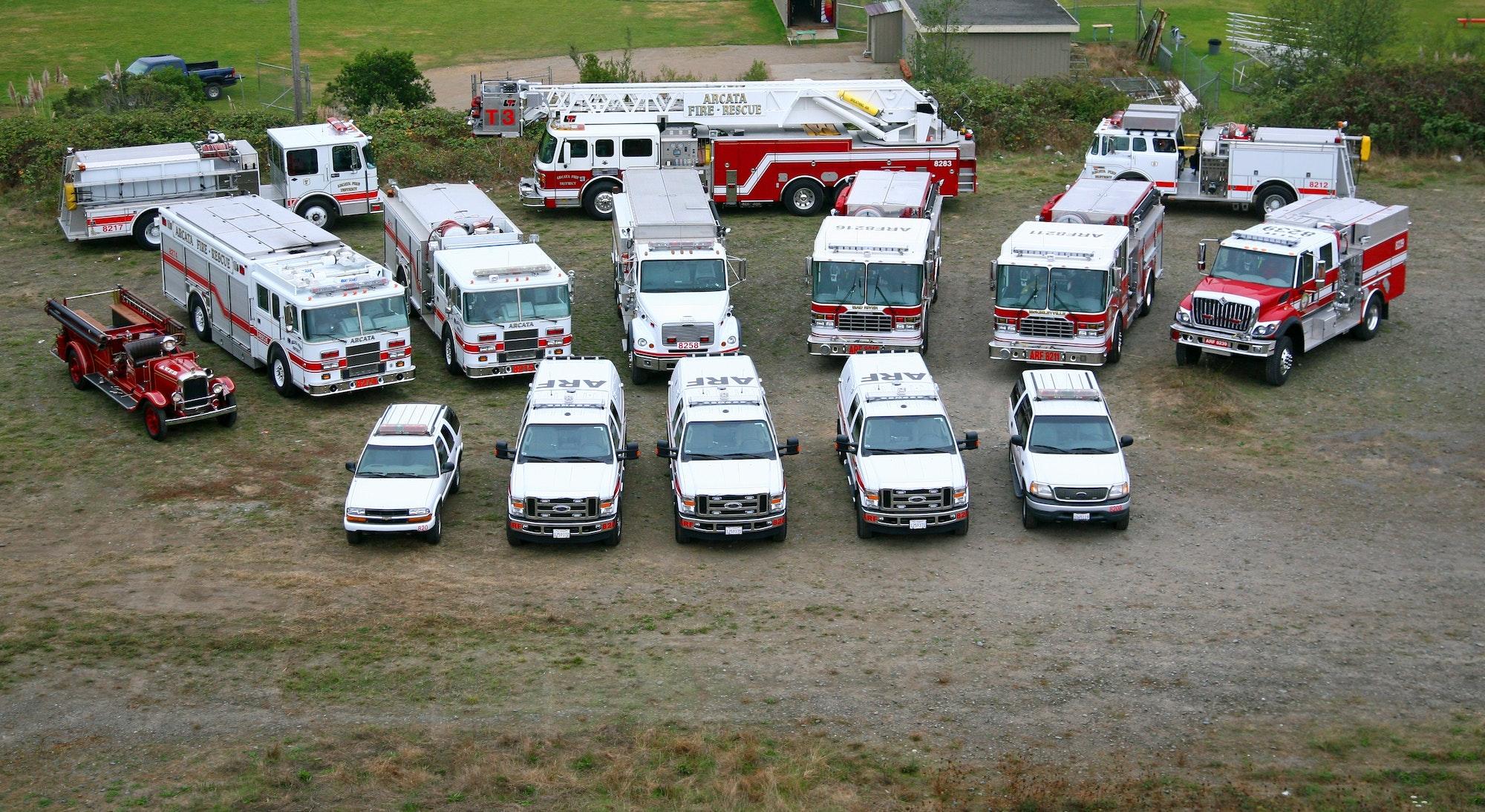 Image of fleet from 2008