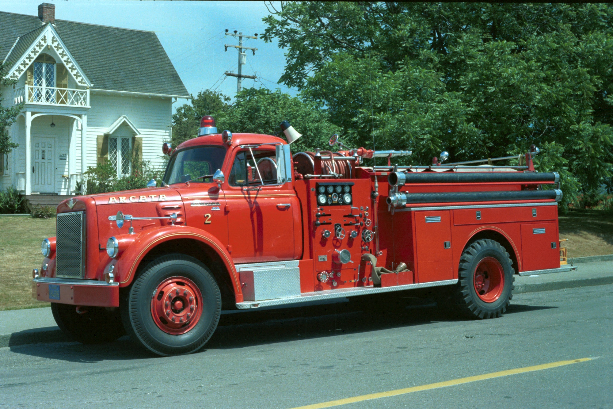 photo of fire engine