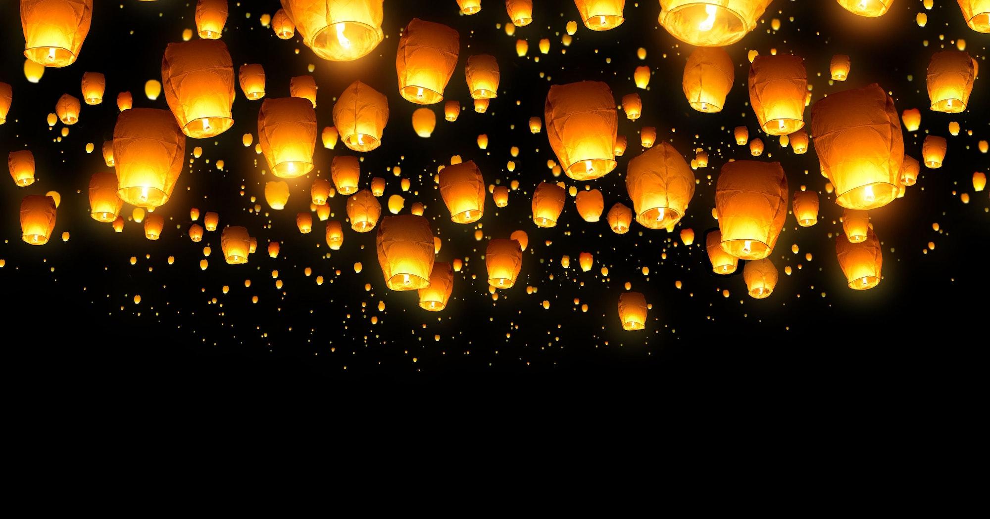 May contain: lamp and lantern