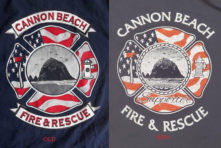 May contain: clothing, apparel, logo, trademark, symbol, and emblem