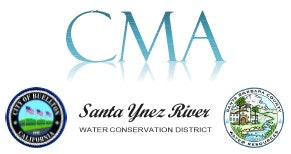 May contain: logos of City of Buellton, SYRWCD and County of Santa Barbara