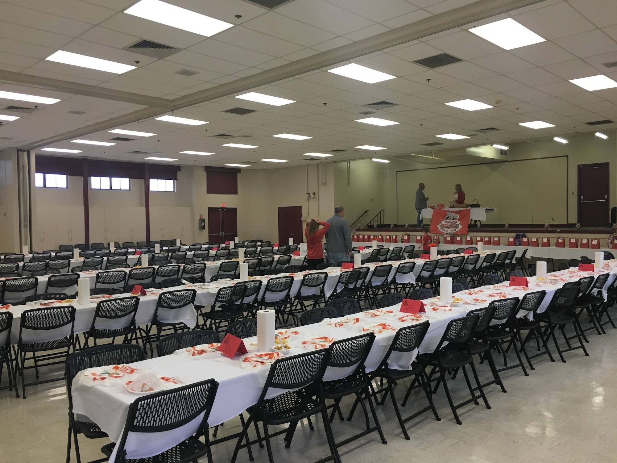 Crab Feed Event at the Kay F. Dahill Community Center