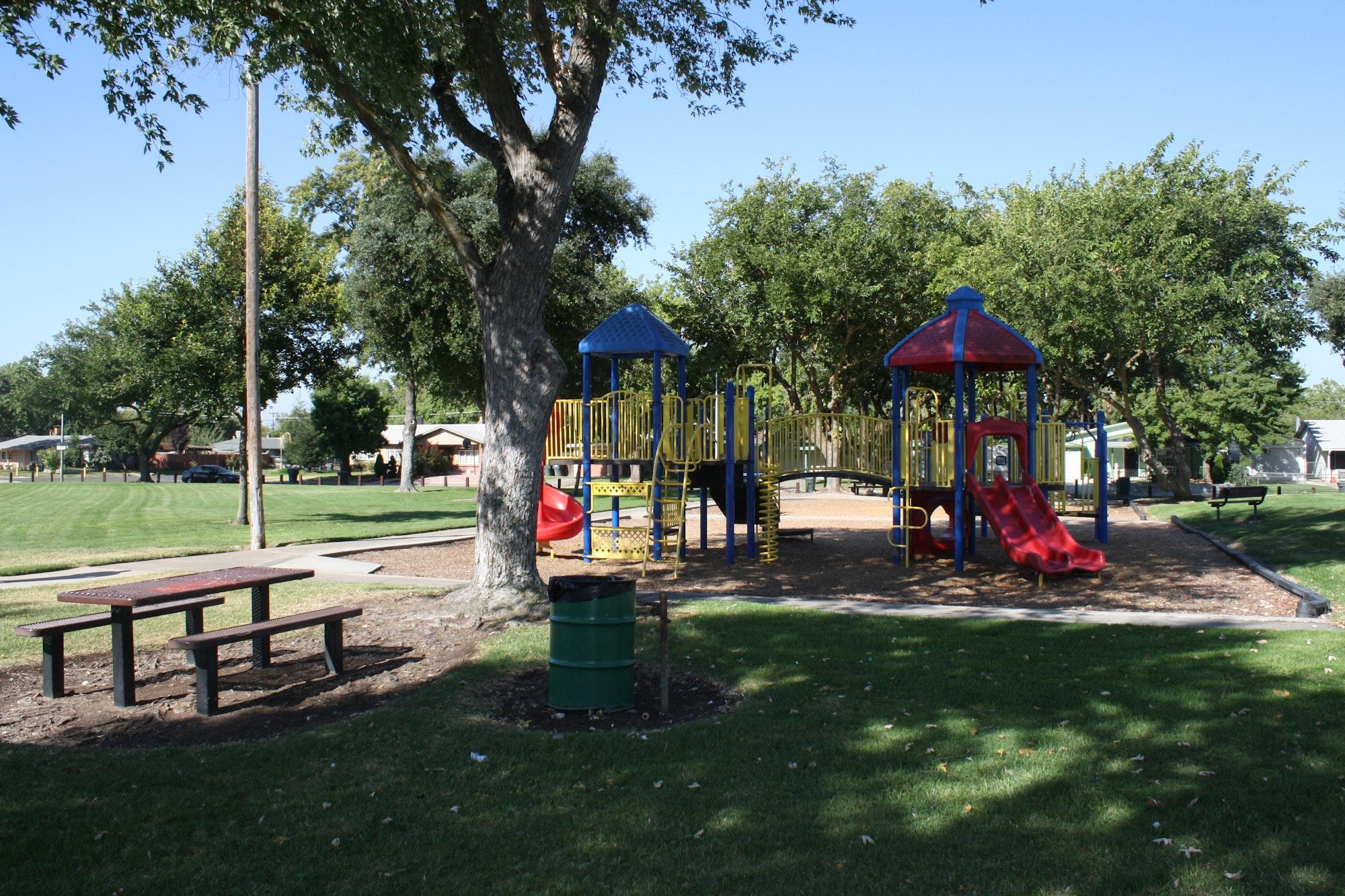 Karl Rosario Park playground