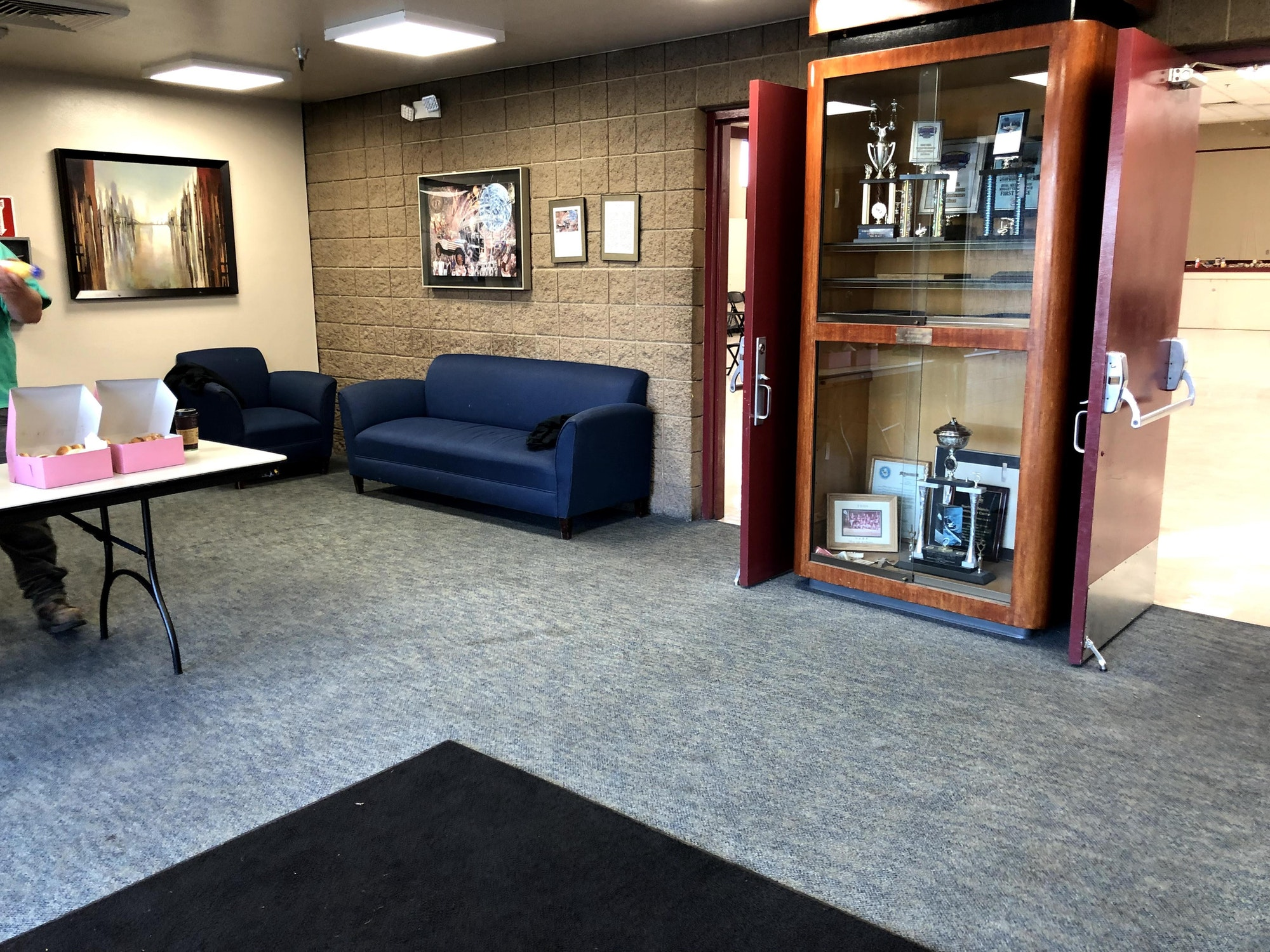 Lobby of the Kay F. Dahill Community Center