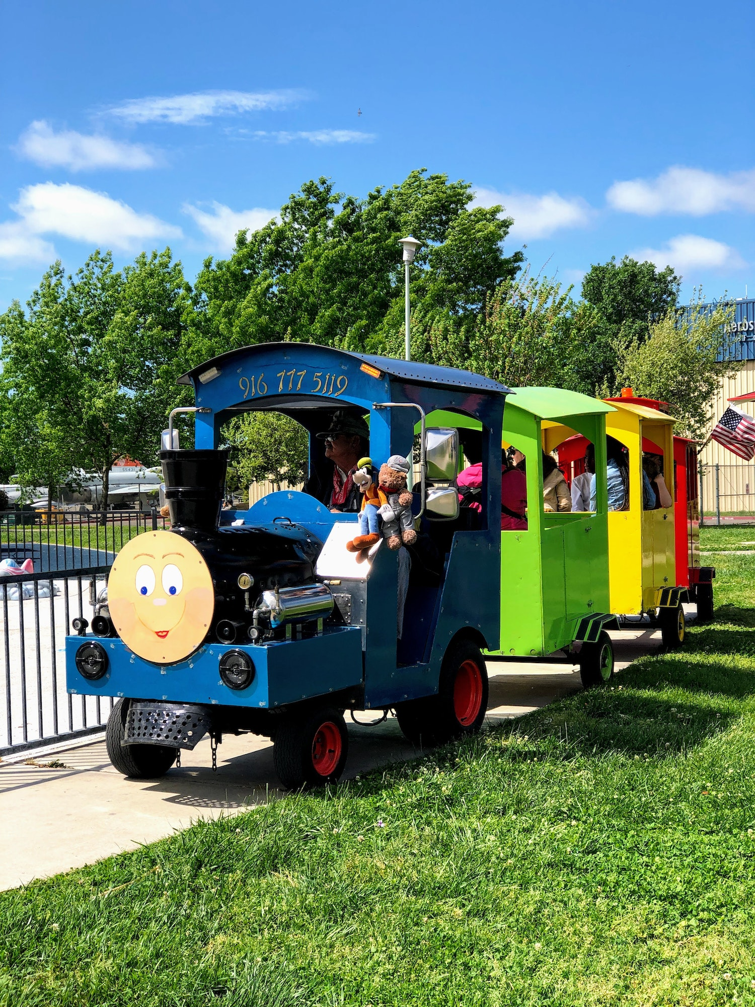 Spring Fling event train rides