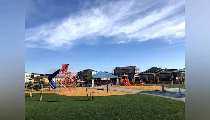 Cherry Blossom Park playground