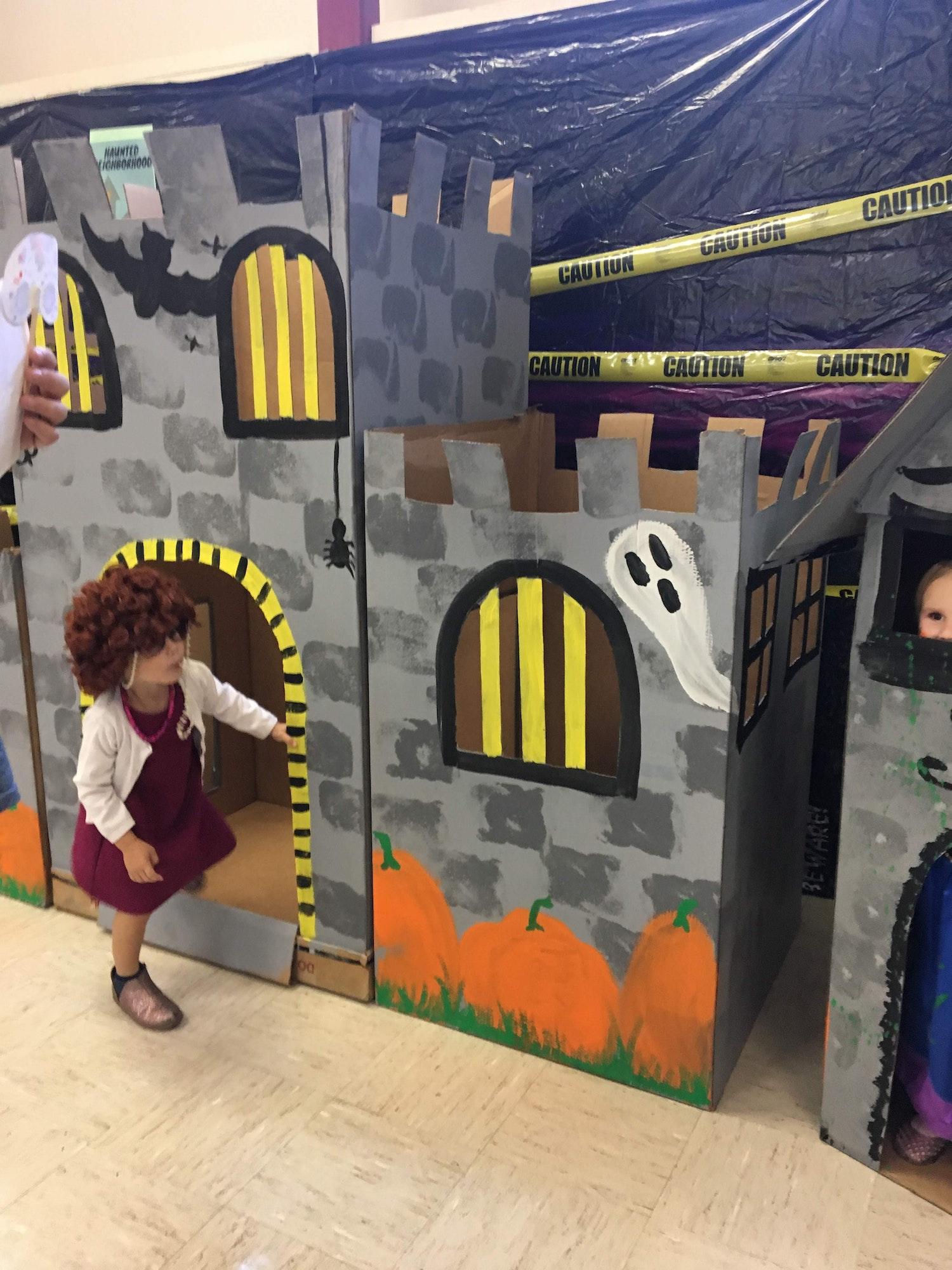 Halloween box forts