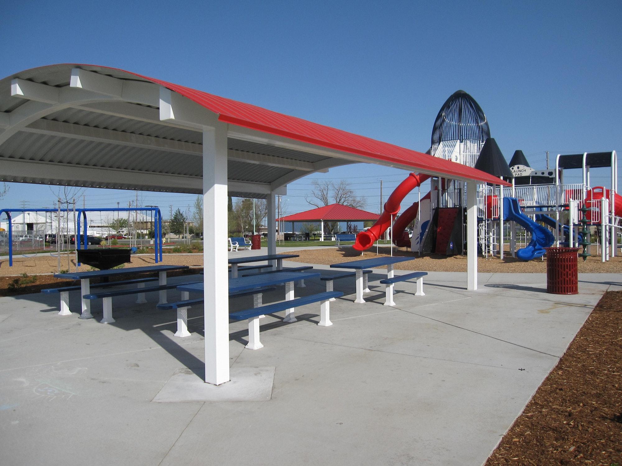 Freedom Park pavilion