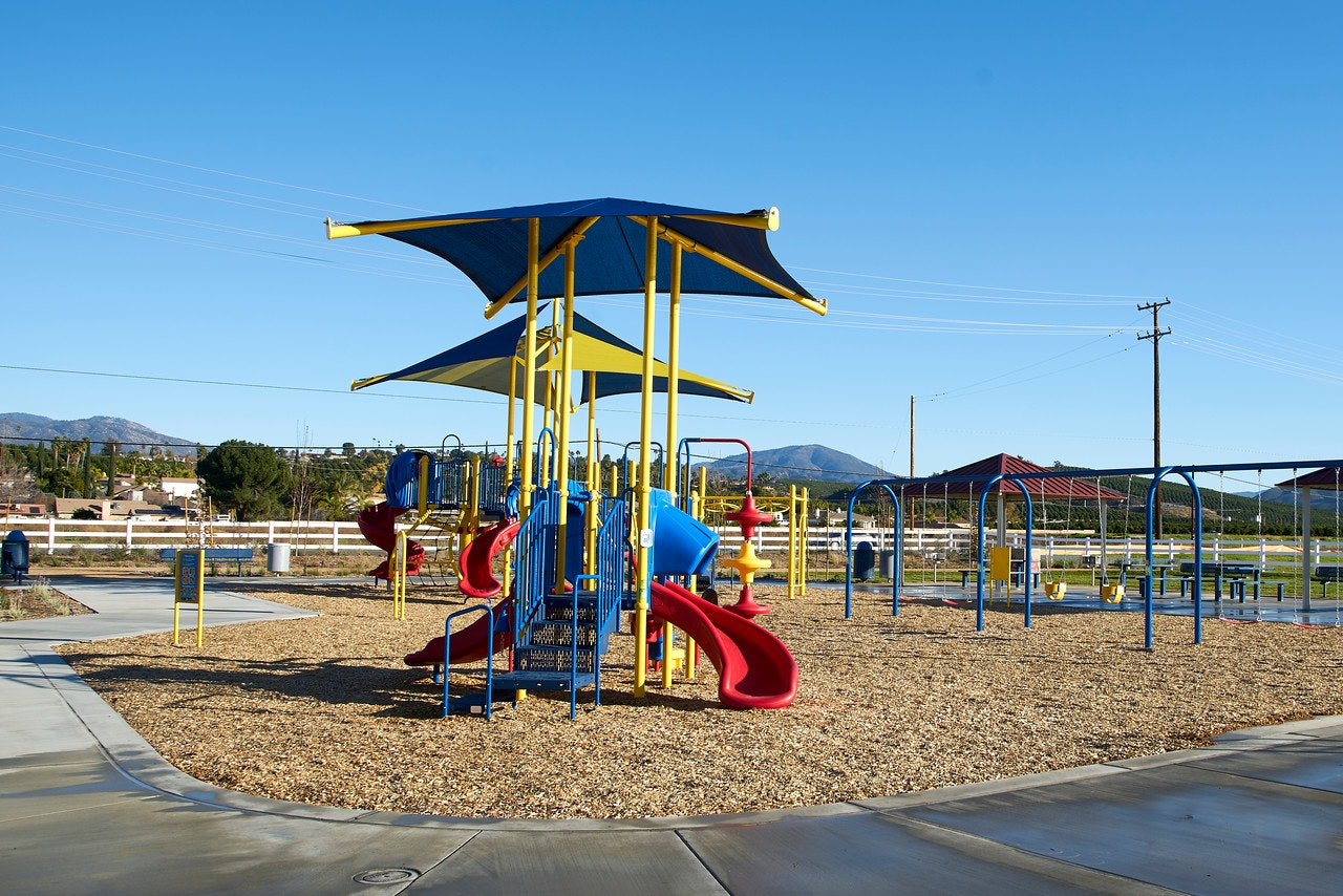 May contain: playground and play area
