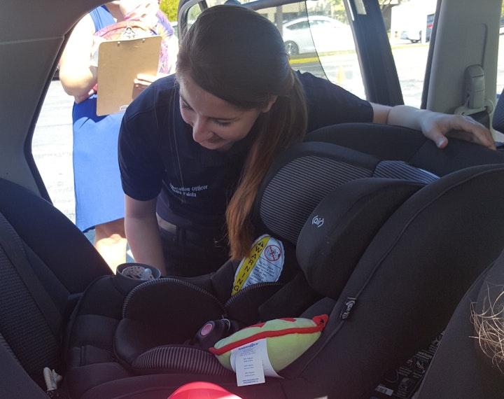 May contain: car seat, cushion, human, and person