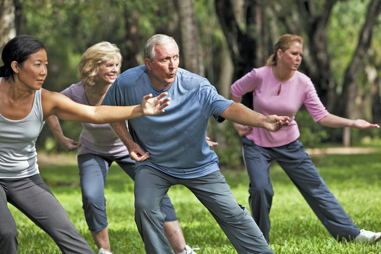May contain: person, human, tai chi, martial arts, sport, and sports