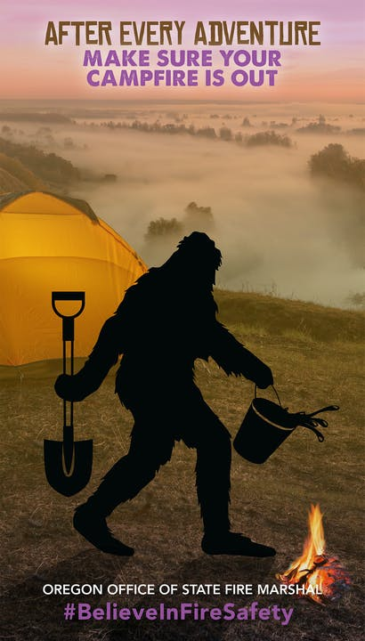 May contain: person, human, camping, poster, and advertisement