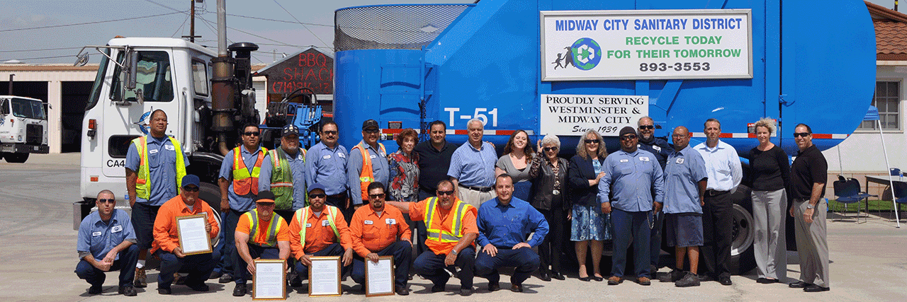Staff and truck photo