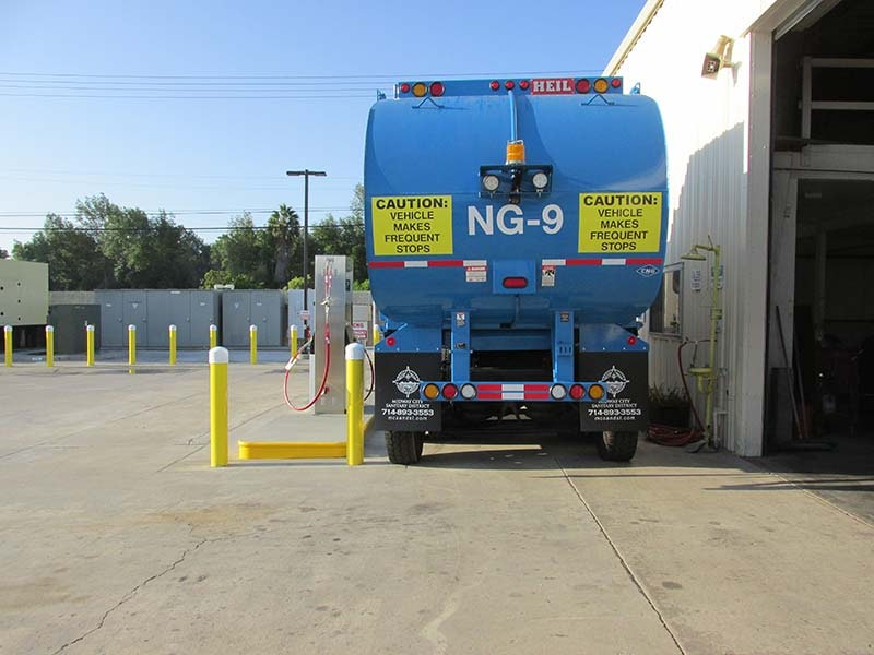 CNG truck